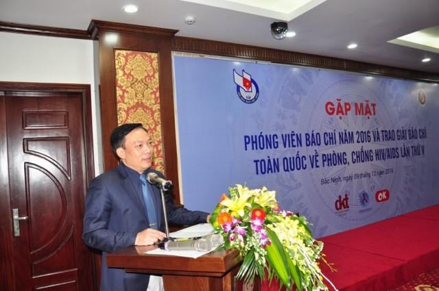 TS Hoàng Đình Cảnh, Phó Cục trưởng Cục Phòng, chống HIV/AIDS phát biểu bế mạc