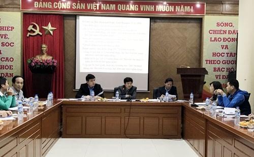Phó Chủ tịch UBND TP Ngô Văn Quý chủ trì cuộc họp chương trình Vòng tay nhân ái