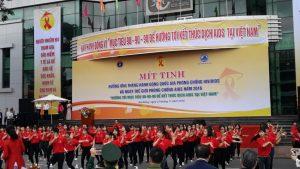 Màn nhảy Flashmode của sinh viên Đại học Đà Nẵng trước giờ khai mạc