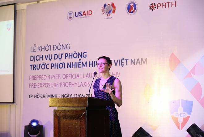 Tiến sỹ Kimberly Green, Giám đốc Dự án Healthy Markets của Cơ quan Phát triển Quốc tế Hoa Kỳ (USAID).