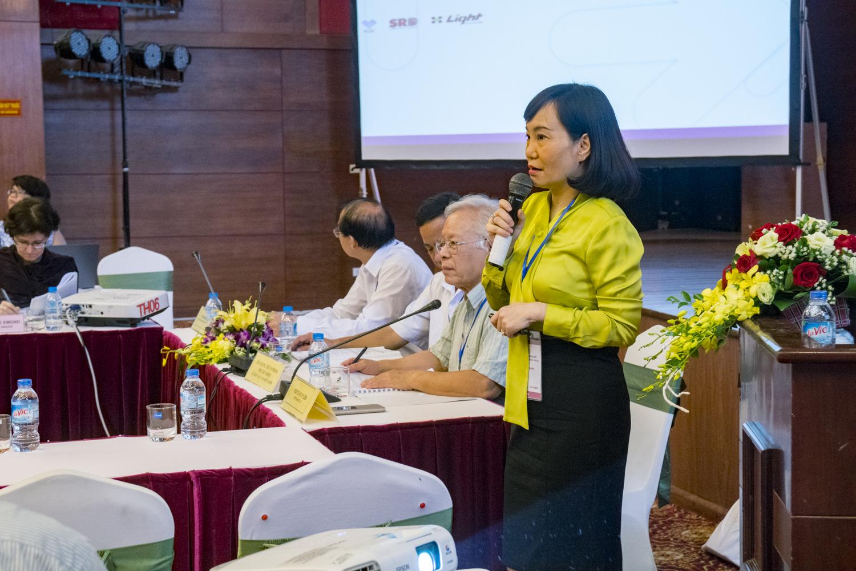 ThS.BS. Nguyễn Thu Giang - Phó Viện trưởng Viện phát triển cộng đồng ánh sáng (LIGHT)